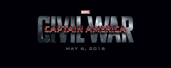 Il logo di Captain America: Civil War