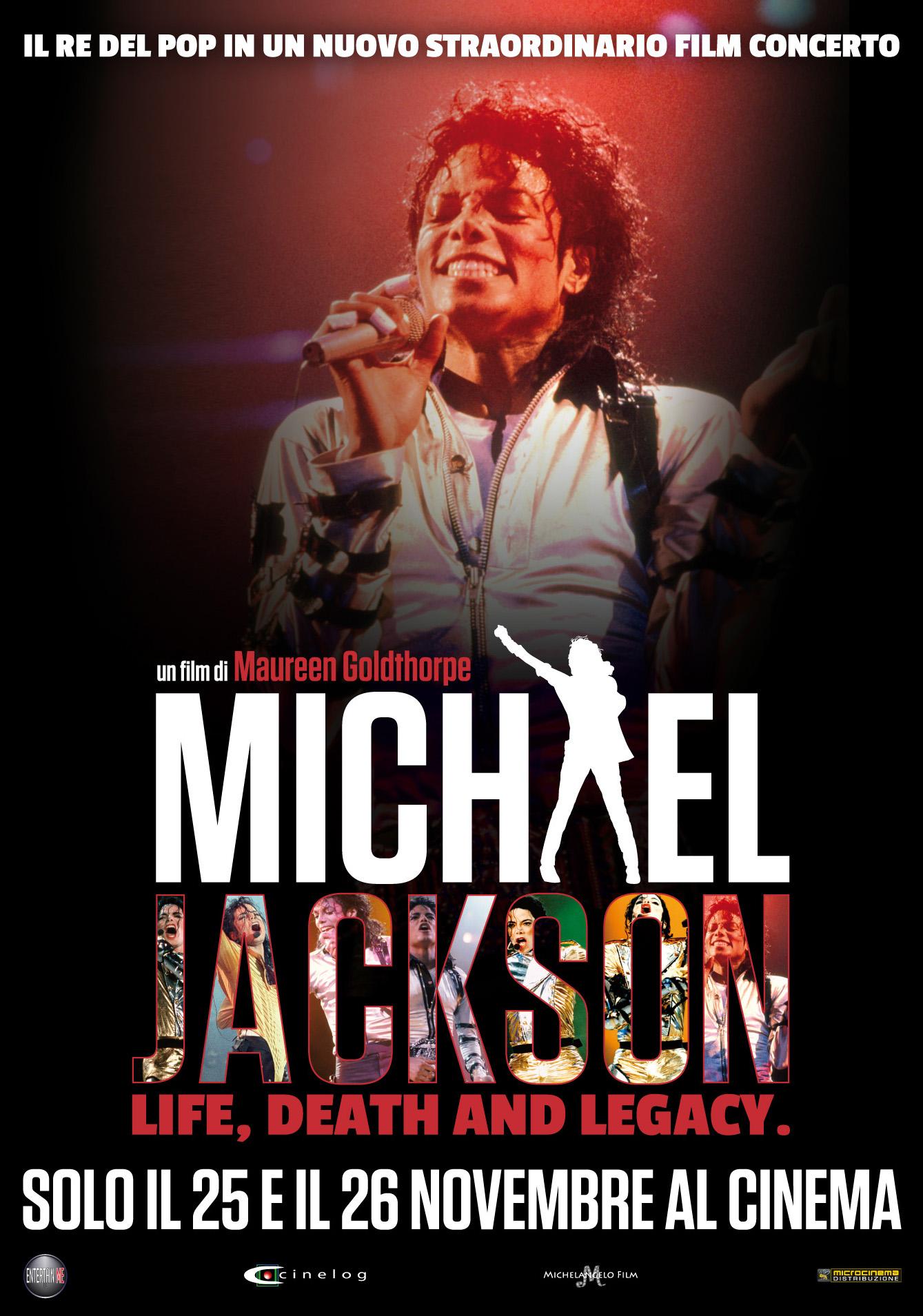 Locandina di Michael Jackson – Life Death and Legacy