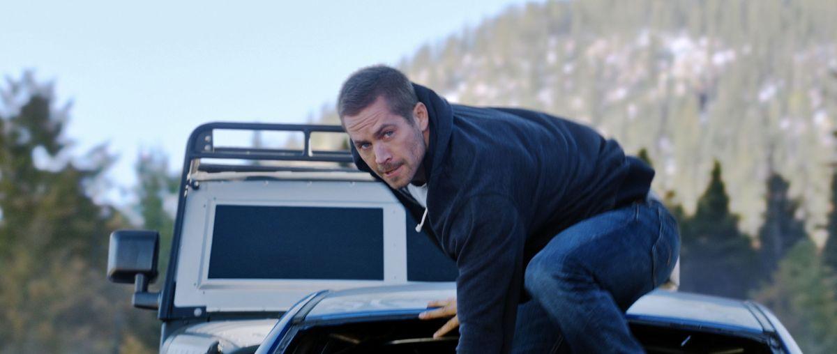 Paul Walker in Fast & Furious 7