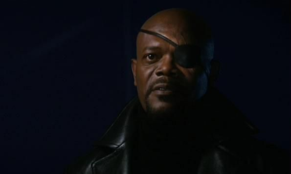 Iron Man: Samuel L. Jackson come Nick Fury nella scena post-credits