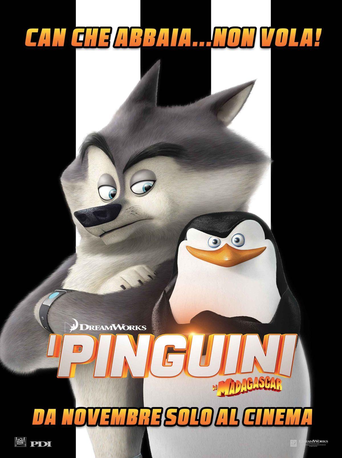 I pinguini di Madagascar: il character poster italiano di Skipper il leader