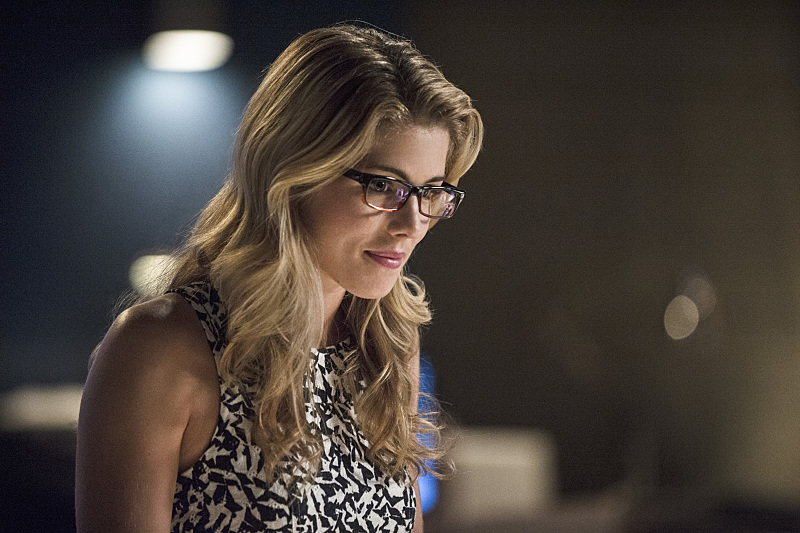 The Flash: l'attrice Emily Bett Rickards in una scena di Going Rogue