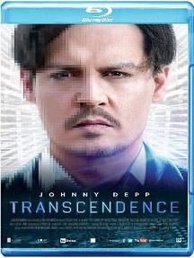 La cover blu-ray di Transcendence
