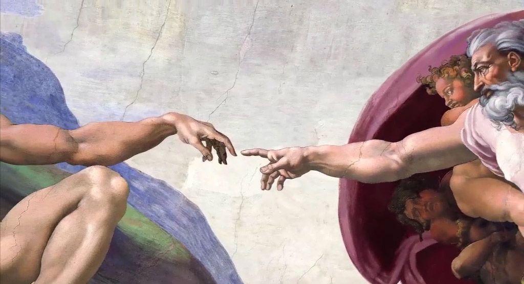 Musei Vaticani 3D - La Grande Arte al Cinema: una scena dell'evento cinematografico e museale