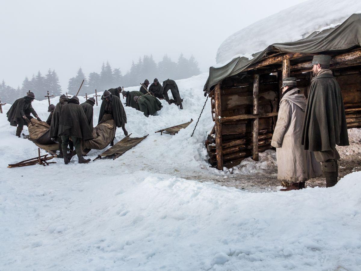 Torneranno i prati: un'immagine del film