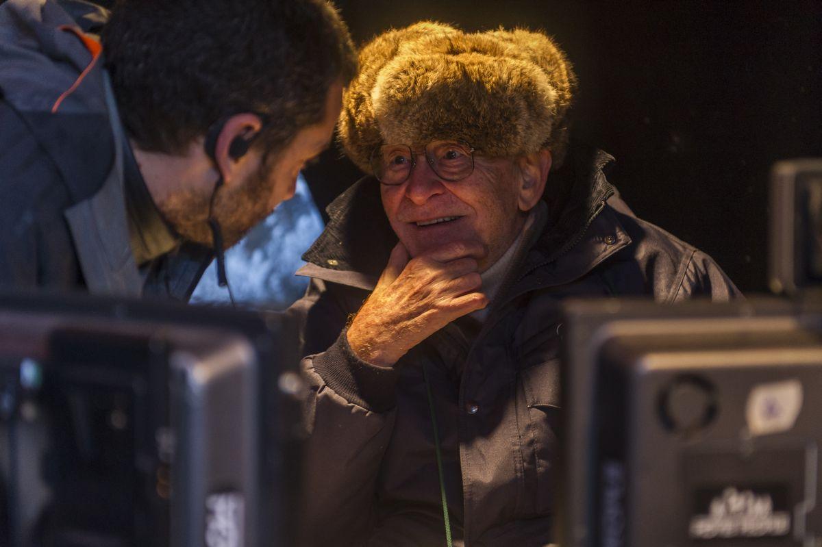 Torneranno i prati: Ermanno Olmi impegnato sul set del film