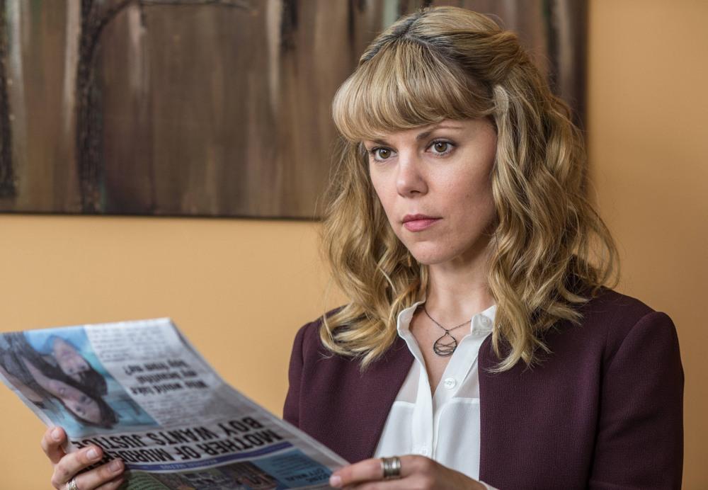 Gracepoint: Sarah-Jane Potts in una scena del quinto episodio