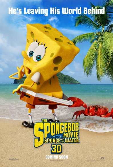 SpongeBob - Fuori dall'acqua: il poster internazionale del film