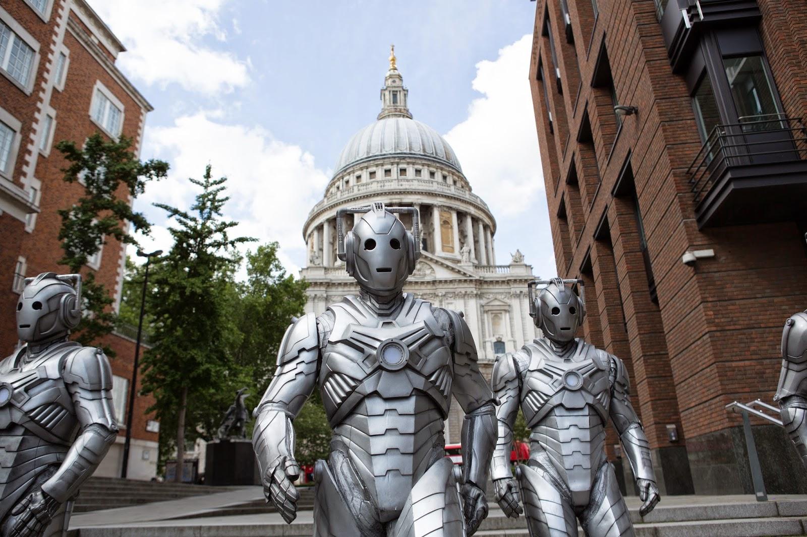 Doctor Who: i Cybermen arrivano a Londra nell'episodio Dark Water