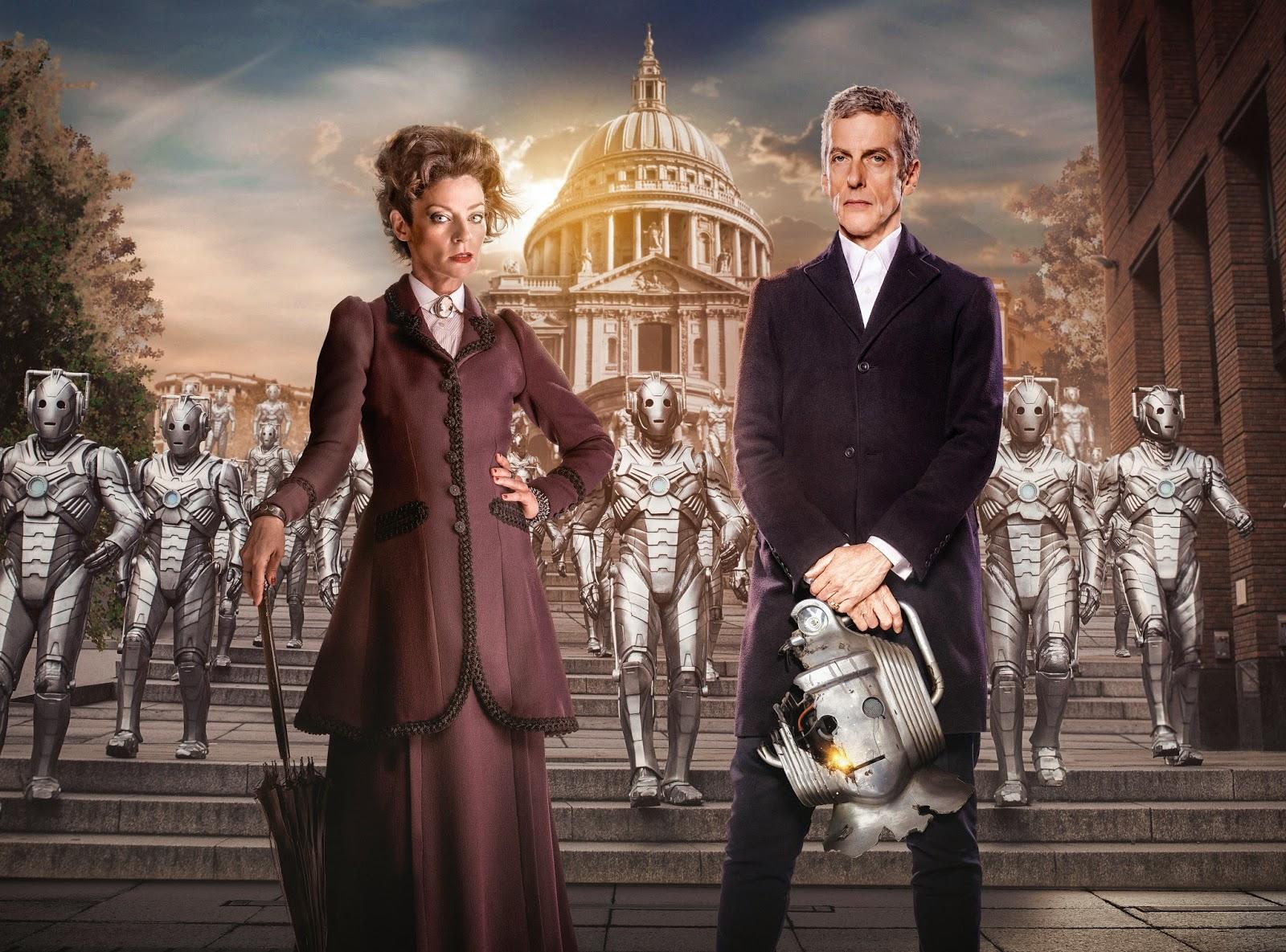 Doctor Who: Michelle Gomez e Peter Capaldi nell'immagine promozionale dell'episodio Dark Water