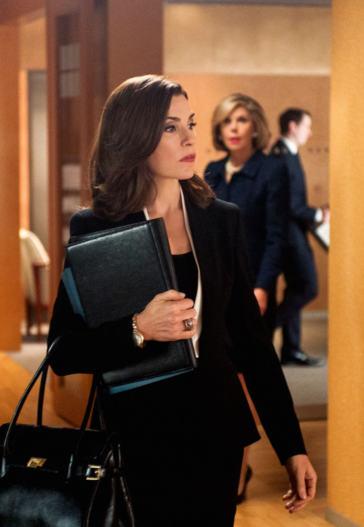 The Good Wife: Julianna Margulies in Message Discipline