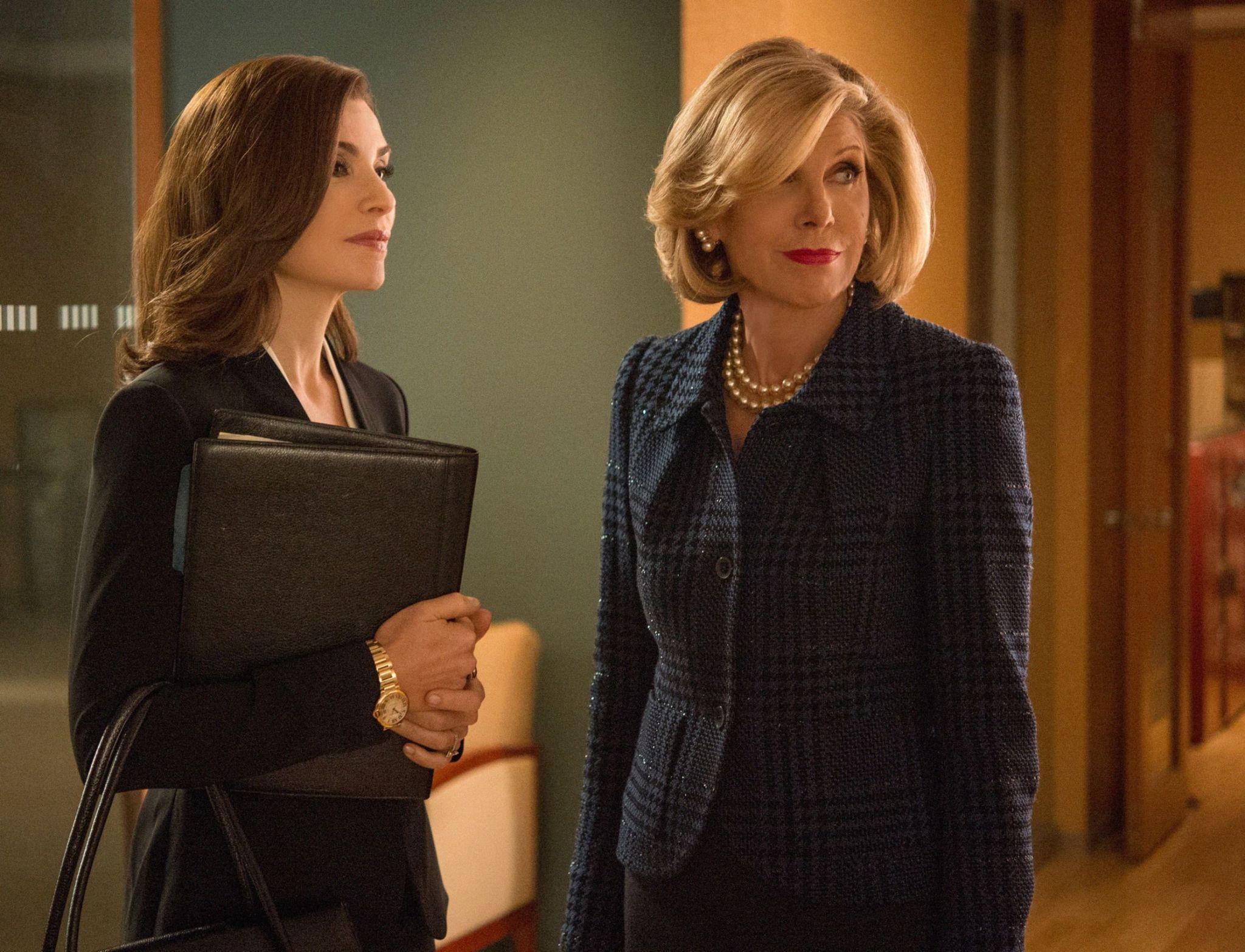 The Good Wife: Julianna Margulies e Christine Baranski nell'episodio intitolato Message Discipline