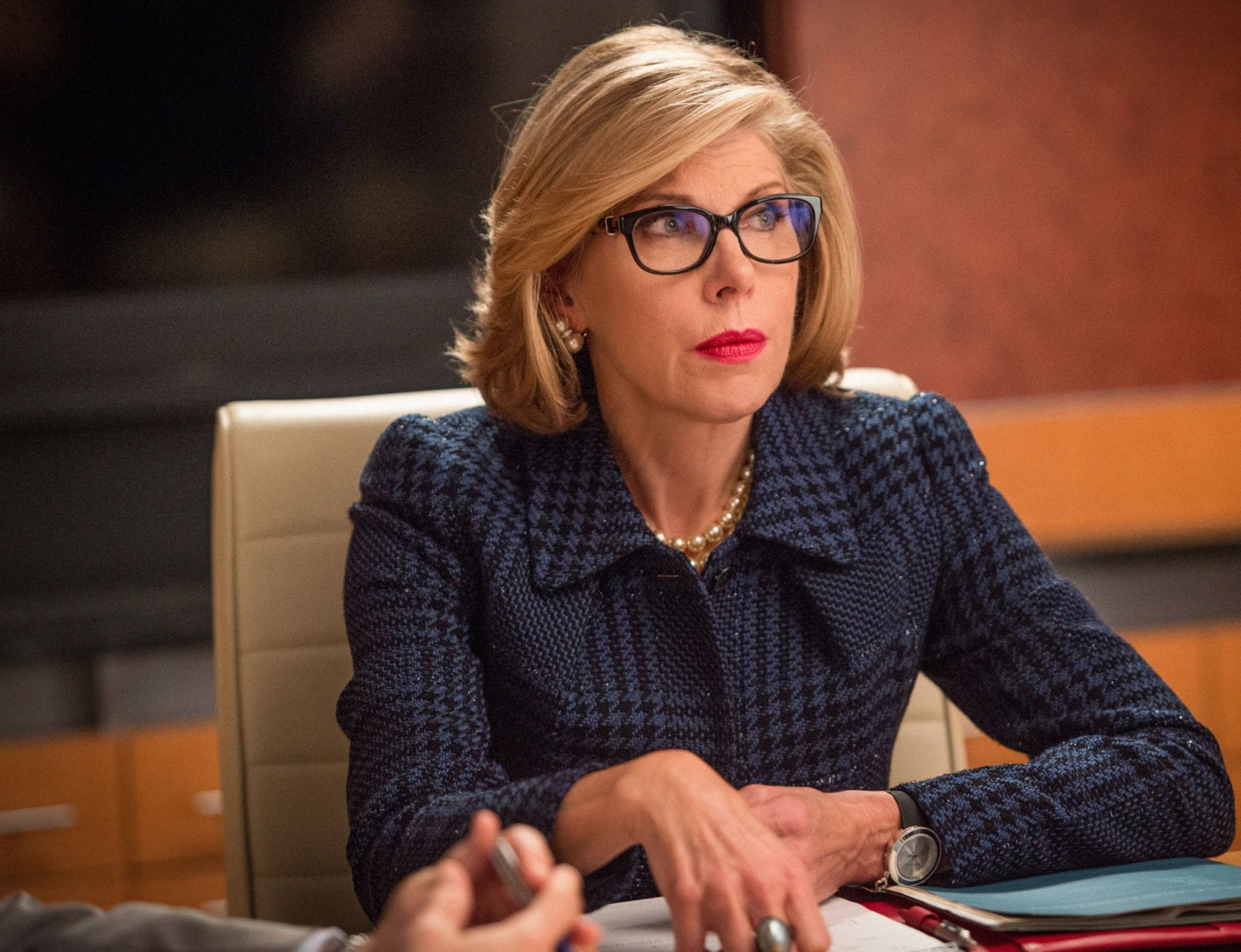The Good Wife: Christine Baranski nella puntata intitolata Message Discipline