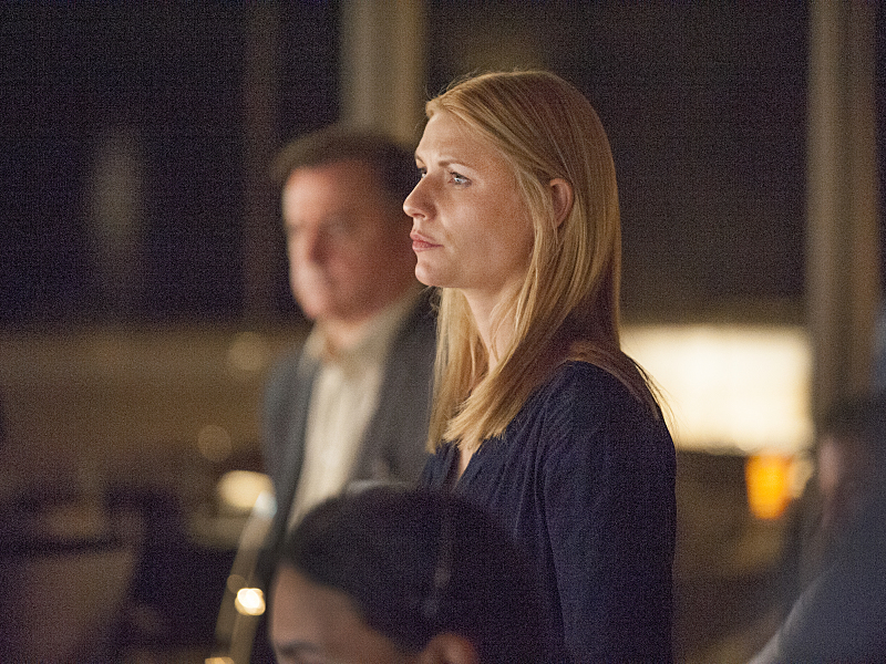 Homeland: l'attrice Claire Danes in From A to B and Back Again