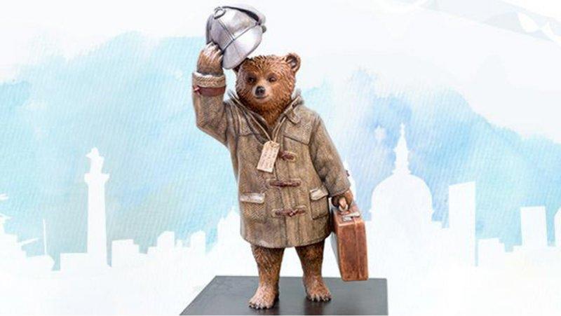 L'orso Paddington commissionato da Cumberbatch per una vendita di beneficenza