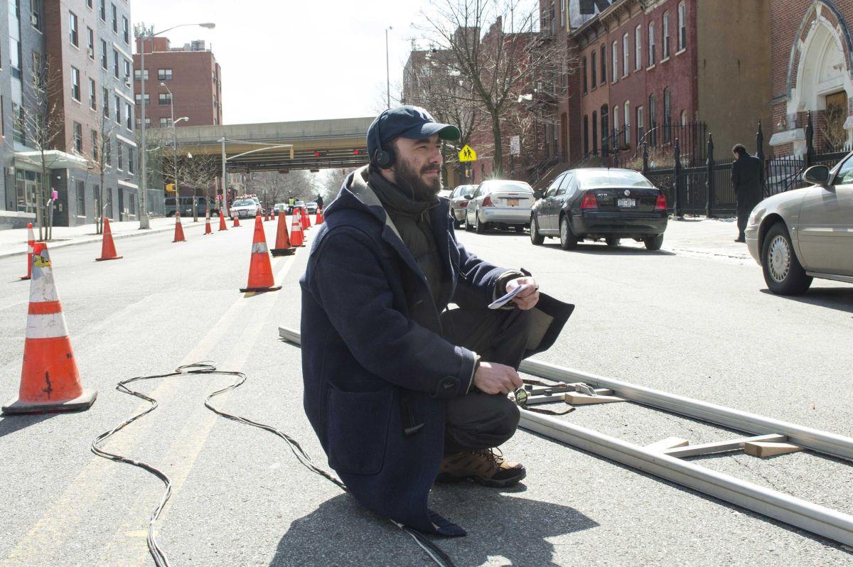 Chi è senza colpa: il regista del film Michaël R. Roskam sul set