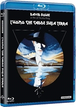 La cover del blu-ray di L'uomo che cadde sulla Terra