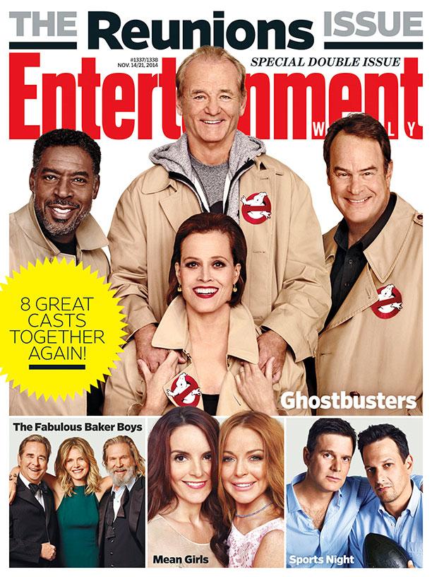 Ghostbusters - la reunion su Entertainment Weekly