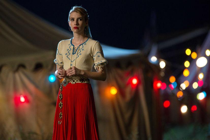American Horror Story Freak Show: Emma Roberts interpreta Maggie in Pink Cupcakes