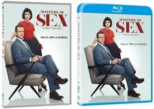 Le cover homevideo di Masters of Sex - Stagione 1