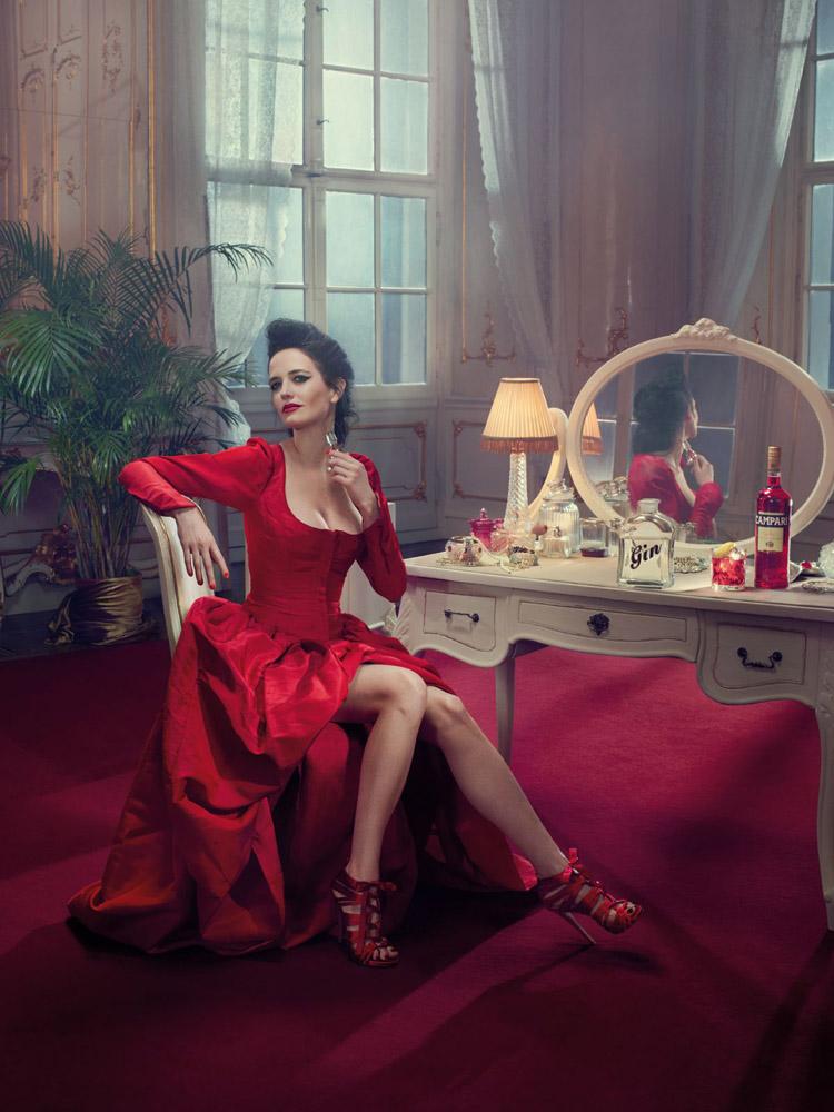 Eva Green per il calendario Campari 2015