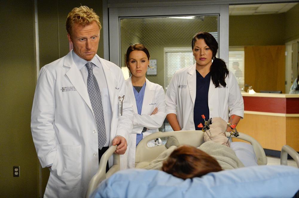 Grey's Anatomy: Kevin McKidd, Sara Ramirez e Camilla Luddington in Don't Let's Start