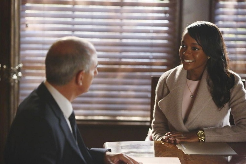 How To Get Away With Murder: Aja Naomi King insieme a Dean Buchanan nella puntata intitolata He Deserved to Die