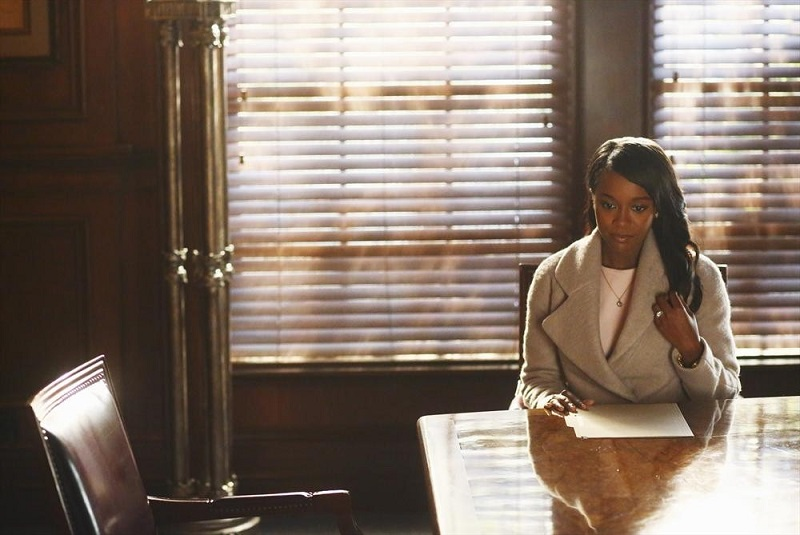 How To Get Away With Murder: Aja Naomi King intepreta Michaela nell'episodio He Deserved to Die