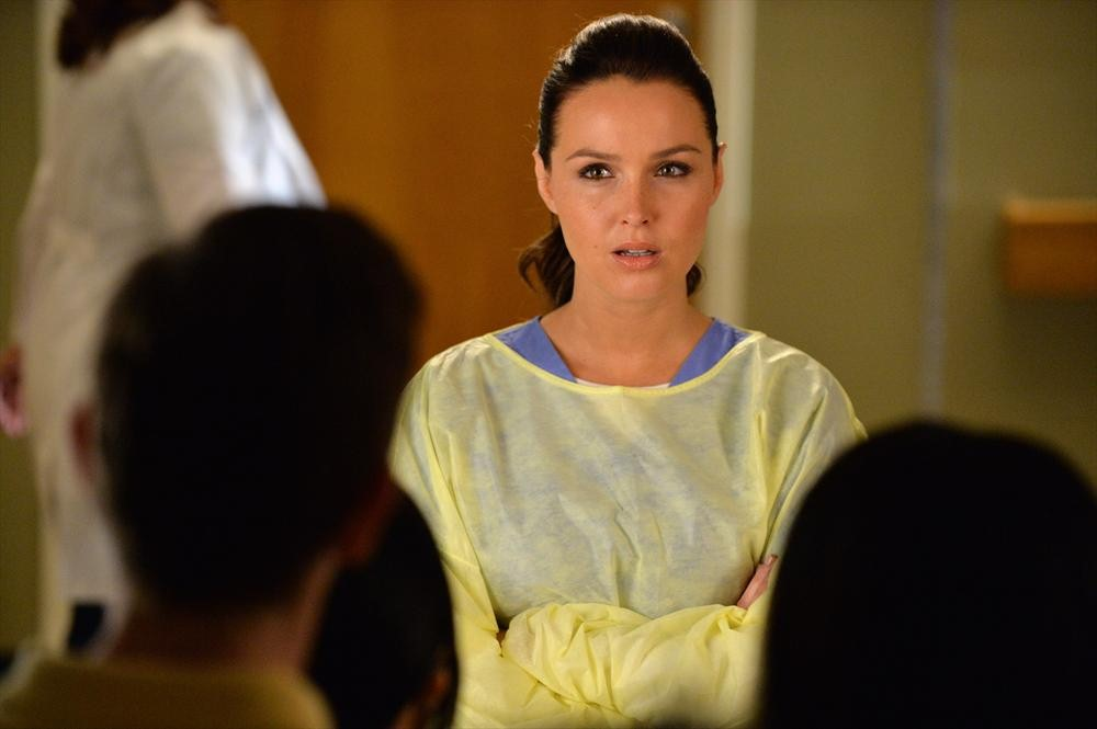 Grey's Anatomy: Camilla Luddington in Don't Let's Start