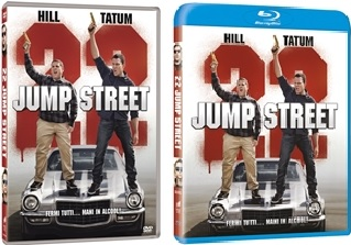 Le cover homevideo di 22 Jump Street