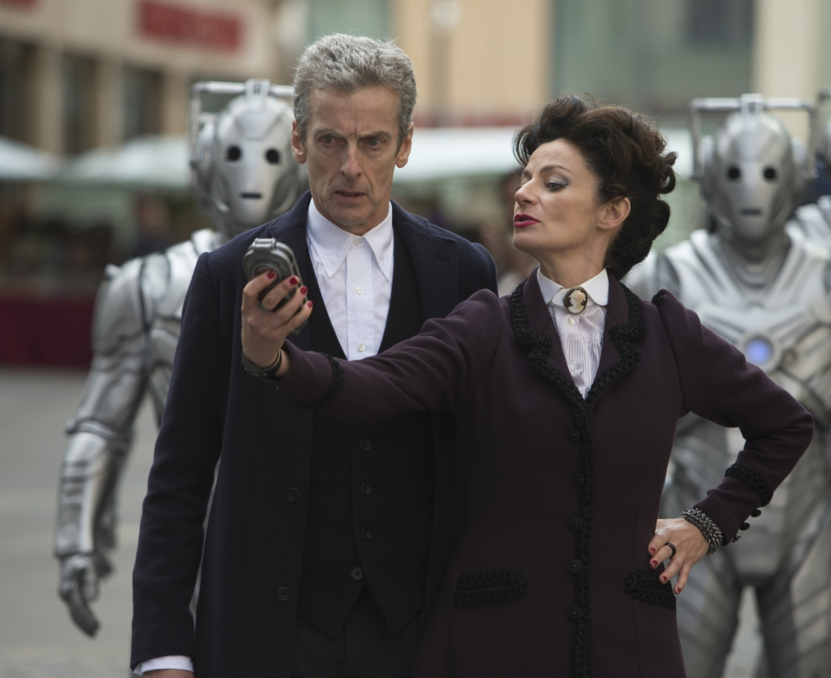 Doctor Who: Peter Capaldi e Michelle Gomez nella puntata intitolata Death in Heaven
