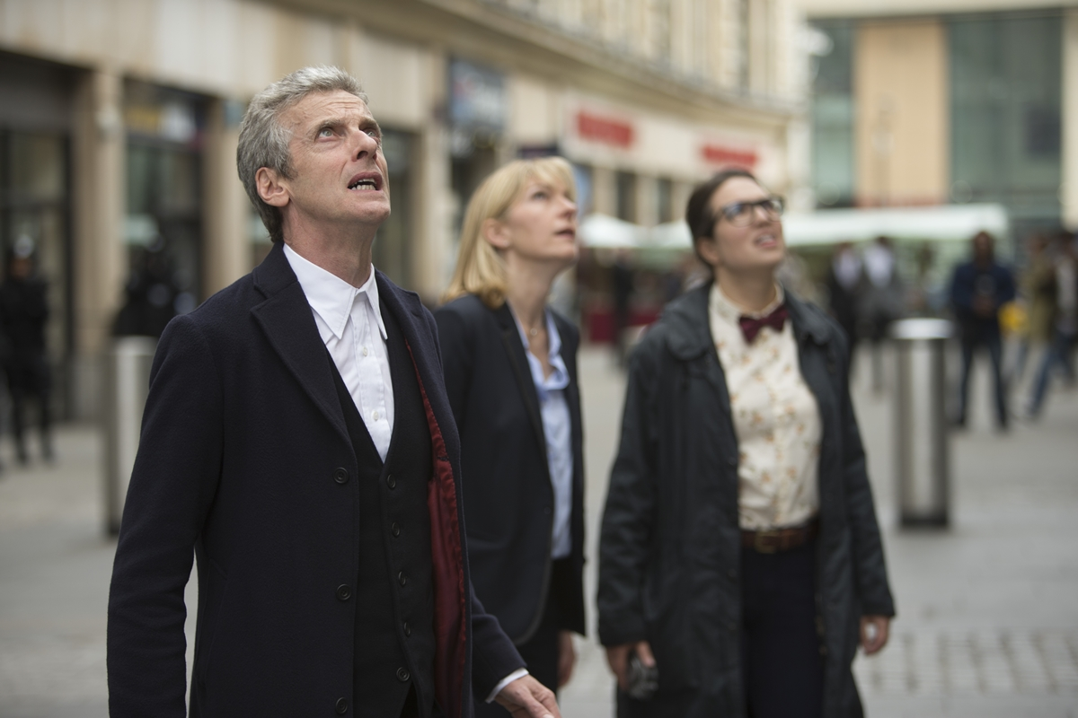 Doctor Who: Peter Capaldi,  Jemma Redgrave e Ingrid Oliver in Death in Heaven