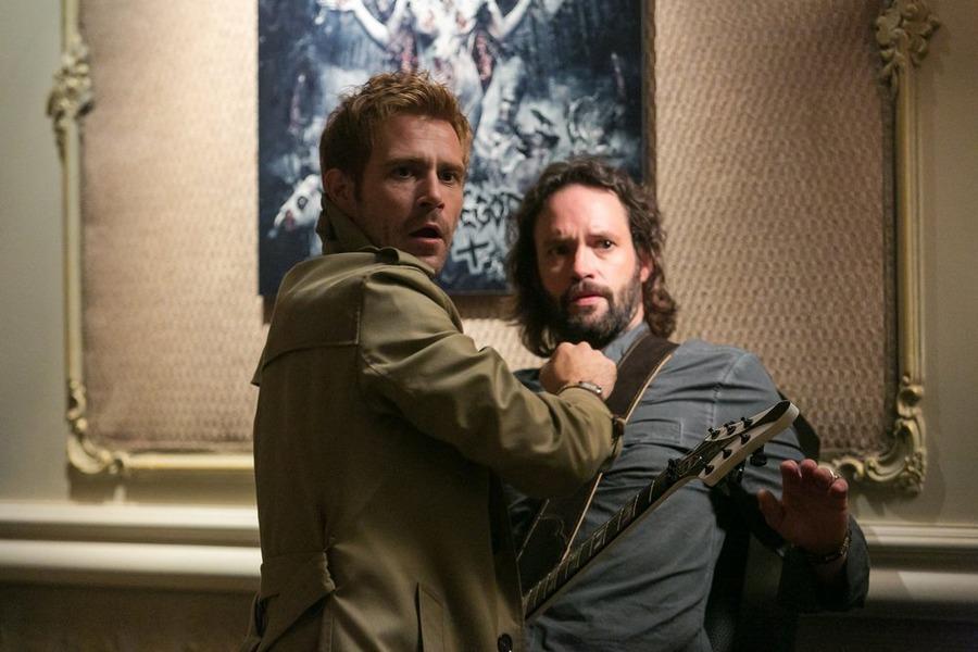 Constantine: Matt Ryan e Marcus Hester in The Devil's Vinyl