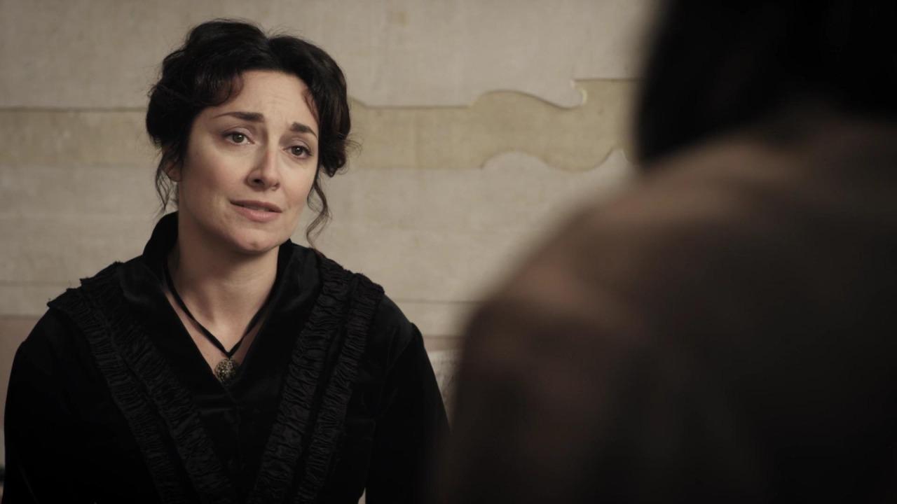 Il leone di vetro: Sara Ricci in una scena del film