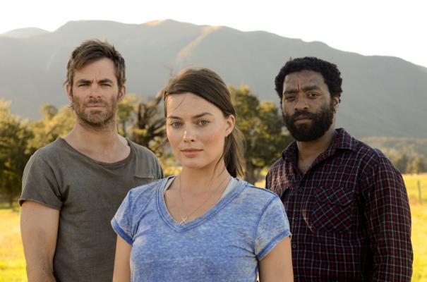 Z for Zachariah: Margot Robbie, Chris Pine e Chiwetel Ejiofor nella prima immagine ufficiale del film