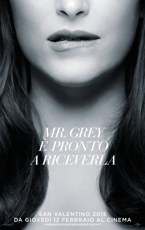 Cinquanta sfumature di grigio: nuovo character poster italiano