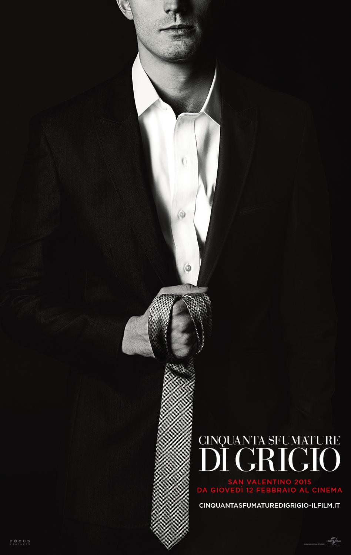 Cinquanta sfumature di grigio: un nuovo character poster italiano del film