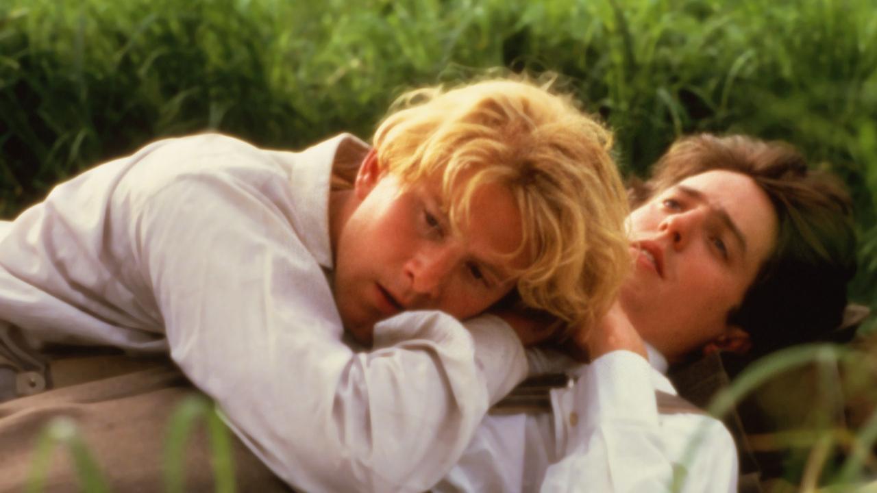 Maurice - James Wilby e Hugh Grant in una scena