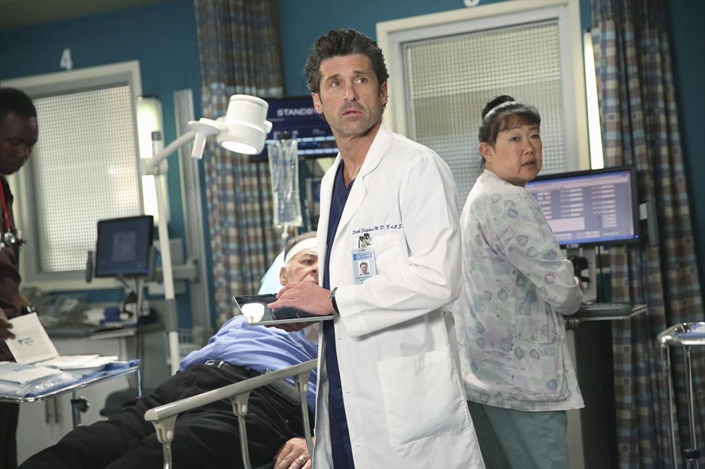 Grey's Anatomy: Patrick Dempsey interpreta il dottor Derek Shepherd in Could We Start Again, Please?