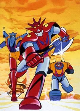 Getter Robot G: un'immagine promozionale della serie