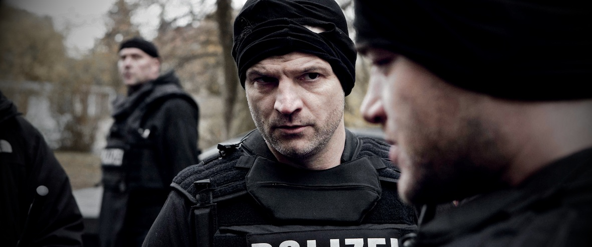 The Kings Surrender: Misel Maticevic in una scena del film poliziesco