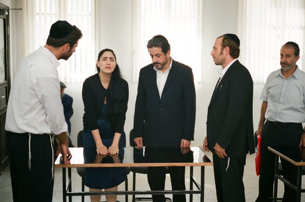 Viviane: Ronit Elkabetz con Menashe Noy e Sasson Gabai in una scena