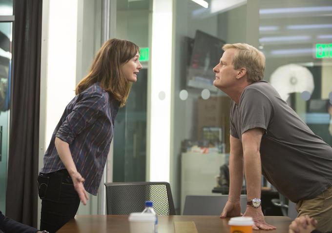 The Newsroom: Emily Mortimer e Jeff Daniels in Run