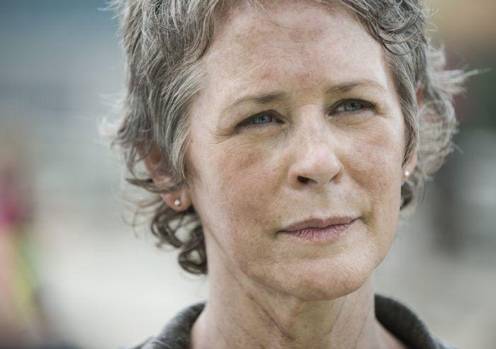 The Walking Dead: l'attrice Melissa McBride nella puntata intitolata Consumed