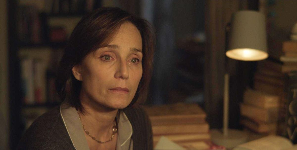 My Old Lady: Kristin Scott Thomas in una scena del film drammatico