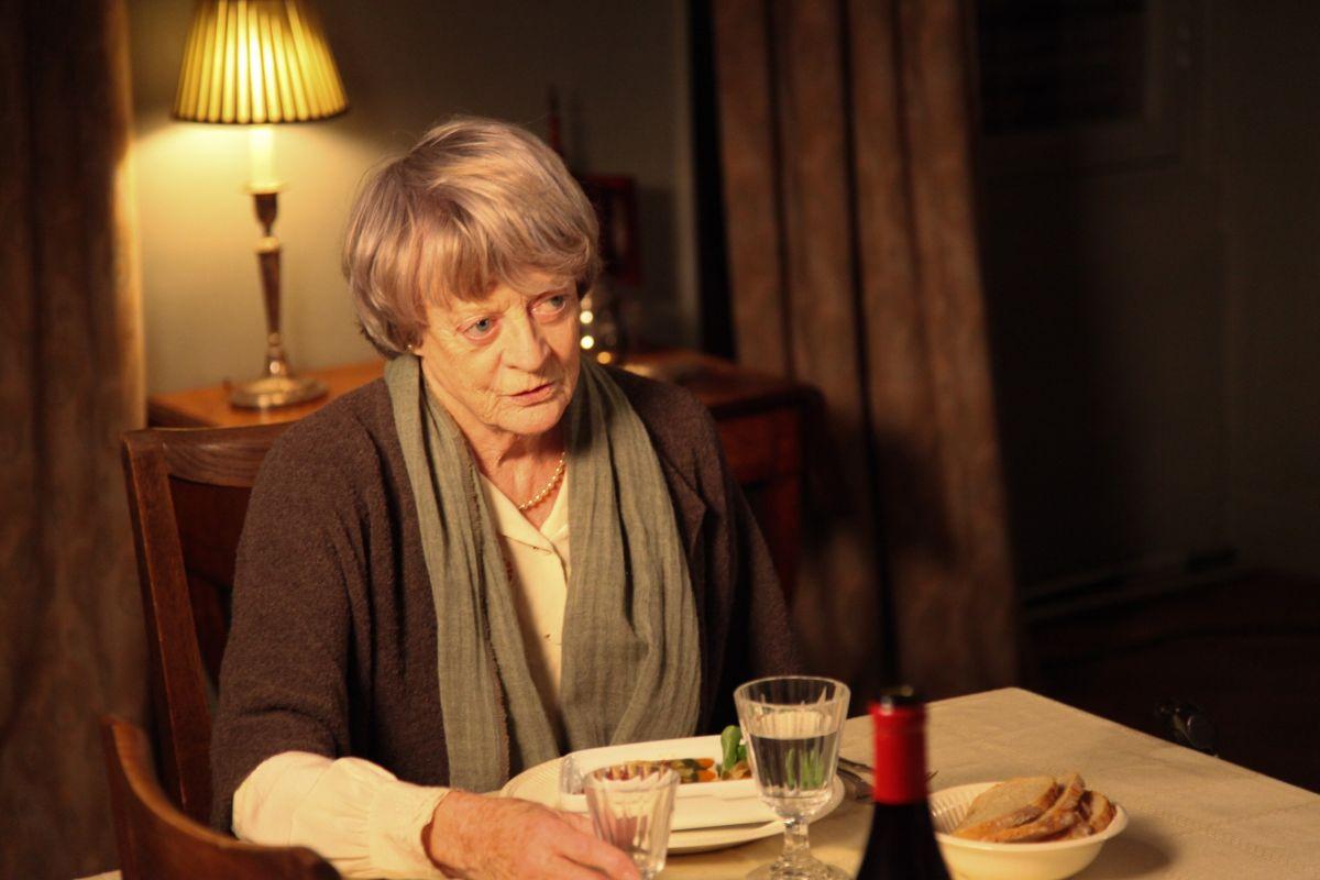 My Old Lady: Maggie Smith in una scena del film drammatico