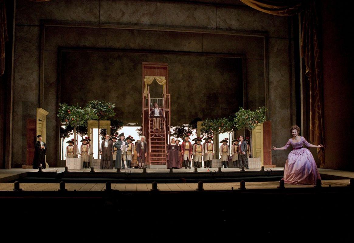 Il Barbiere di Siviglia: una scena della pièce