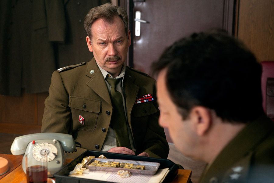 Miroslaw Baka in una scena di Jack Strong
