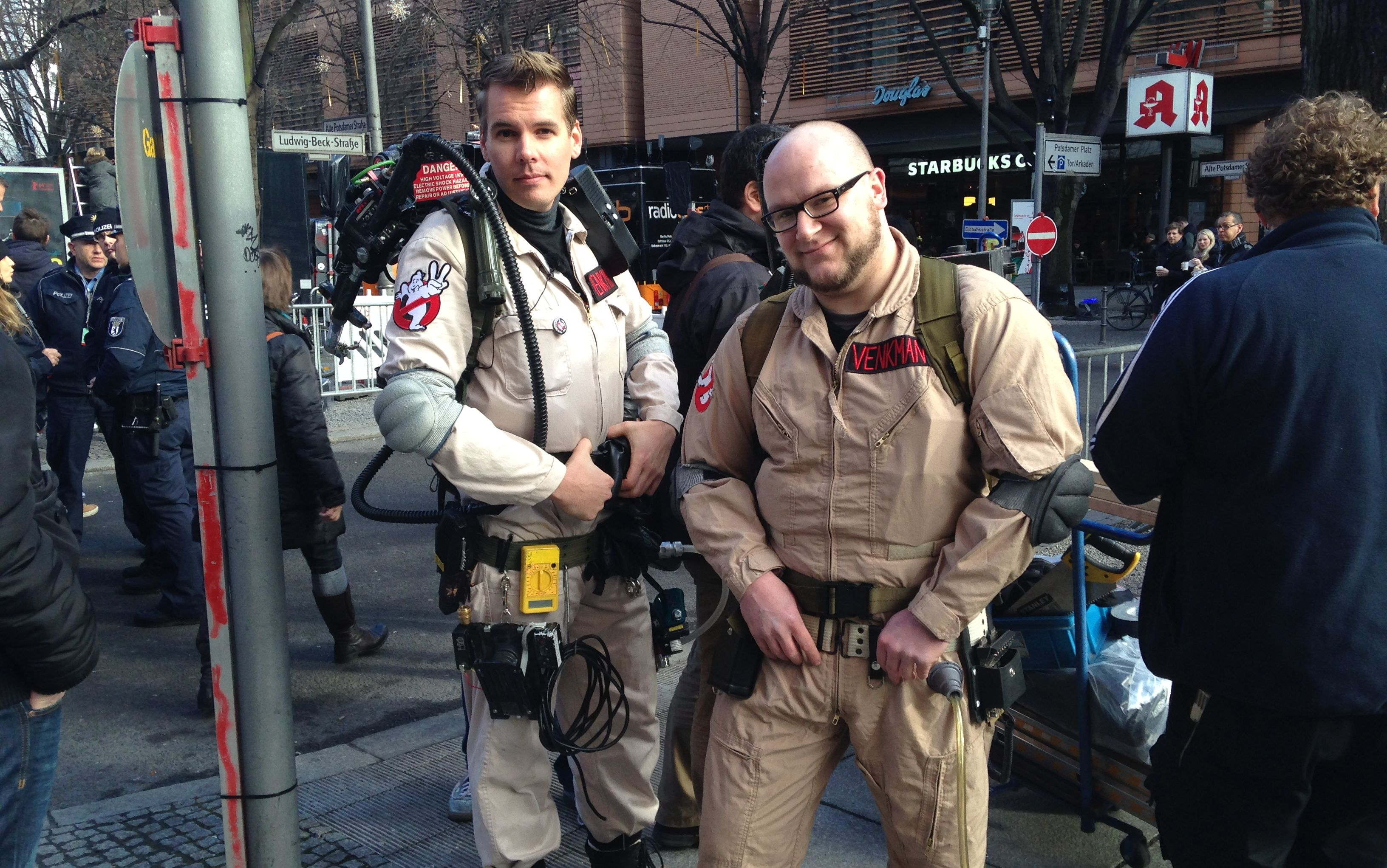 Berlino 2014: fan aspettano Bill Murray vestiti da Ghostbusters
