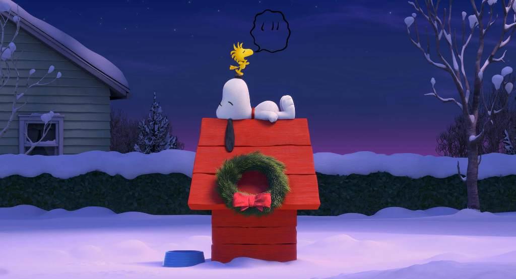 Snoopy & Friends - Il film dei Peanuts: Snoopy e Woodstock in una scena del film animato